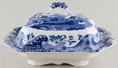Spode Italian Vegetable Dish with Cover