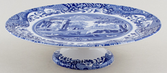 Spode Italian Cake Plate footed