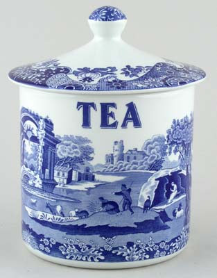 Spode Italian Storage Canister Tea