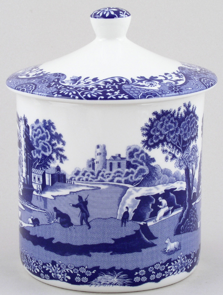 Spode Italian Storage Jar Plain
