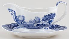 Spode Italian Sauce Boat with Stand