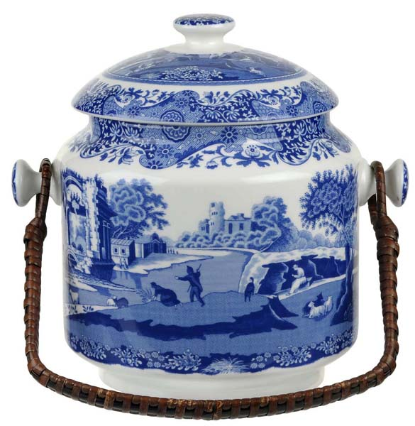Spode Italian Biscuit Barrel 200th Anniversary