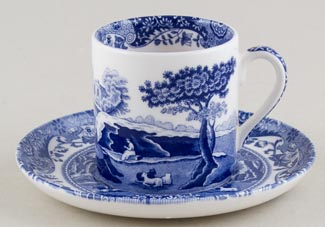 Spode Italian Coffee Cup and Saucer