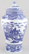 Vase with Cover Gothic Castle