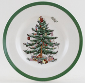 Spode Christmas Tree colour Tea Plate