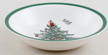Spode Christmas Tree colour Cereal or Dessert Bowl