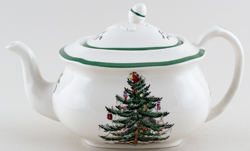 Spode Christmas Tree colour Teapot