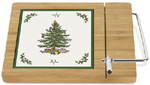 Spode Christmas Tree colour Cheese Board