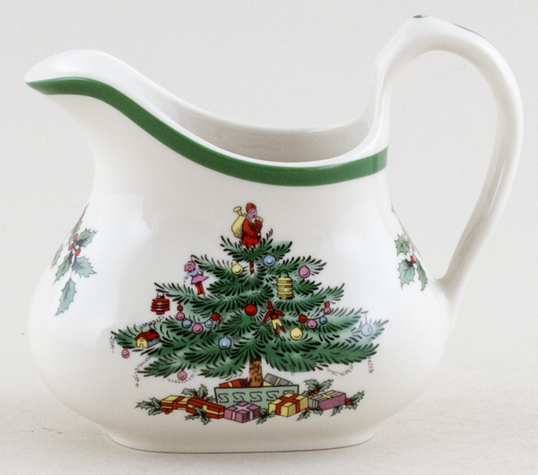 Spode Christmas Tree colour Creamer or Jug