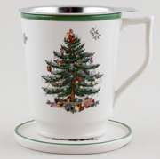 Spode Christmas Tree colour Tisaniere