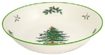 Spode Christmas Tree colour Serving Bowl shallow