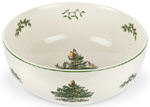 Spode Christmas Tree colour Salad or Serving Bowl
