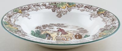 Soup or Dessert Plate c1940