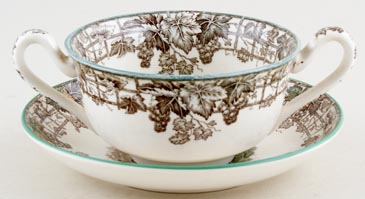 Soup Cup and Saucer c1950s