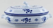 Spode Gloucester Vegetable Dish with Cover c1960s