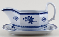Spode Gloucester Sauce Boat with Stand c1950s