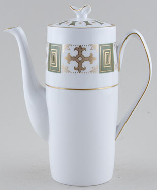 Spode Persia green Coffee Pot c1970s