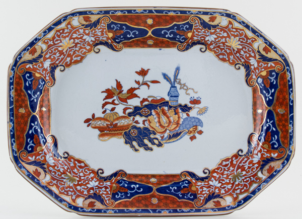 Spode Frog colour Meat Dish or Platter c1821