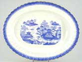 Meat Dish or Platter with tree and well c1884
