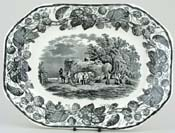 Meat Dish or Platter c1932