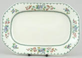 Spode Strathmere colour Meat Dish or Platter small c1940s