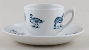 Toy Cup and Saucer c1905