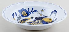 Spode Blue Bird colour Dessert or Soup Plate c1950s