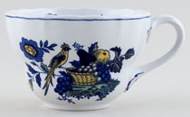 Spode Blue Bird colour Breakfast Cup c1950s