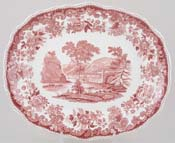 Meat Dish or Platter c1953