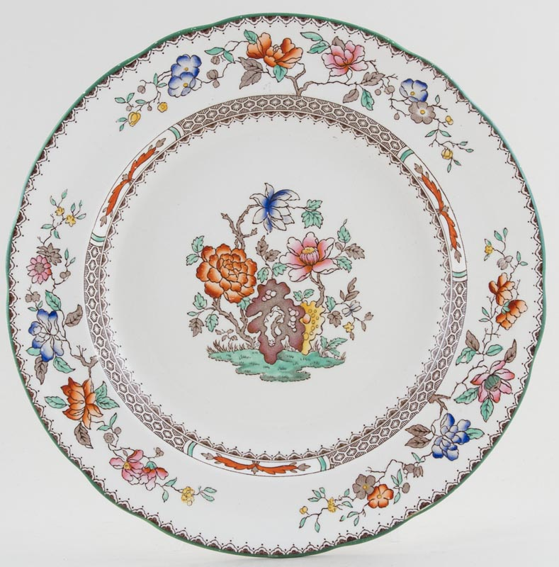 Spode Chinese Rose colour Plate c1930s to 1960s