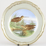 Plate c1970s Snipe