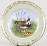 Plate c1970s Lapwing