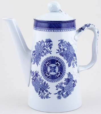 Spode Fitzhugh Coffee Pot c1960s