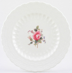 Spode Billingsley Rose colour Plate c1940s