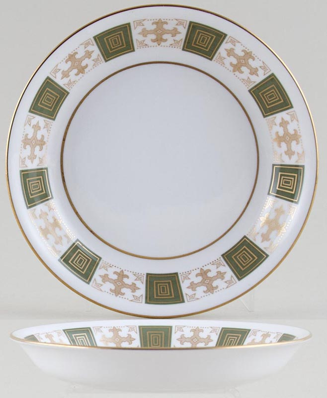 Spode Persia green Cereal or Dessert Bowl c1960s or 1970s