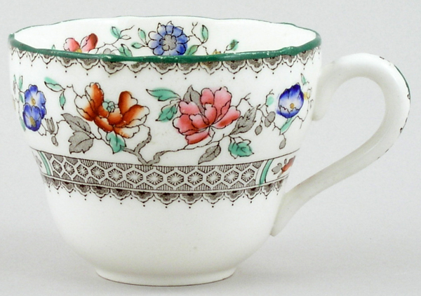 Spode Chinese Rose colour Teacup c1980s