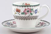 Coffee Cup and Saucer c1981