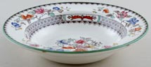 Spode Chinese Rose colour Rimmed Fruit Saucer c1930s to c1950s