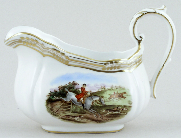 Spode The Hunt colour Creamer or Jug c1960s