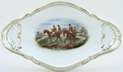 Spode The Hunt colour Dish small c1960s
