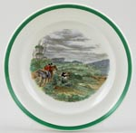 Spode The Hunt colour Plate c1937