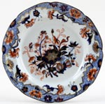 Spode Bang Up blue with colour Plate c1830