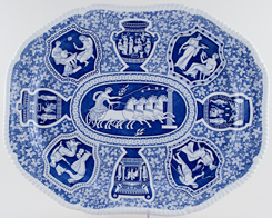 Spode Signature Collection Meat Dish or Platter Greek c2002