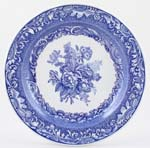 Spode Blue Room Plate Byron Groups c1997