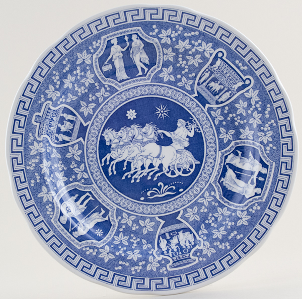 Spode Blue Room Greek Plate