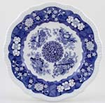 Spode Blue Room Plate Trophies c1996