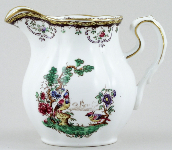 Spode Chelsea colour Jug or Creamer c1920s