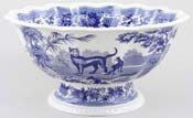 Footed Bowl Aesops Fables c2001