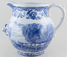 Spode Signature Collection Ewer Rural Scenes c2001