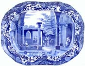 Meat Dish or Platter Antique Fragments at Limisso c1901